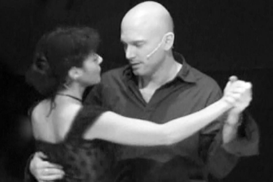 Oskar and Alma Dance 1 BW